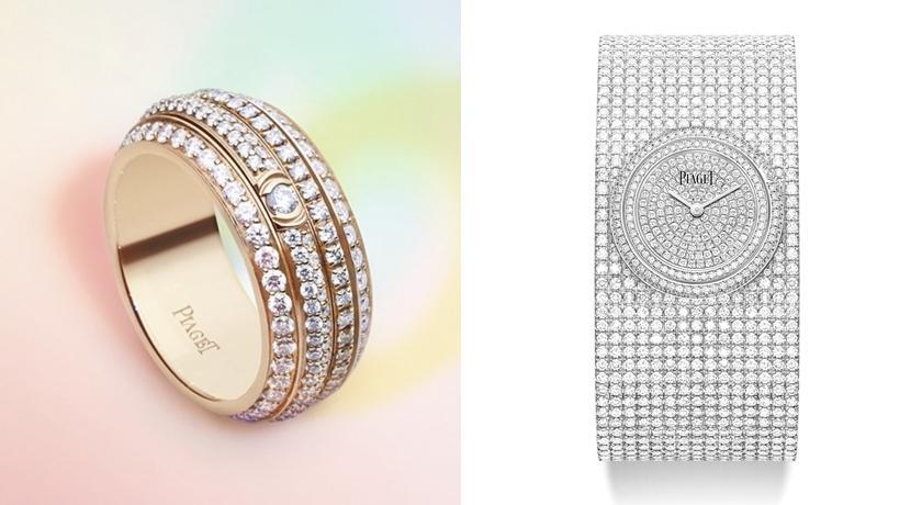 數一數共鑲嵌「1400」顆鑽石!滿鑽手鐲式腕錶差點把人閃瞎