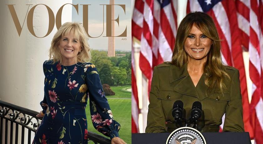 拜登夫人登封時尚雜誌!美媒揭四年來「川普妻被跳過」原因