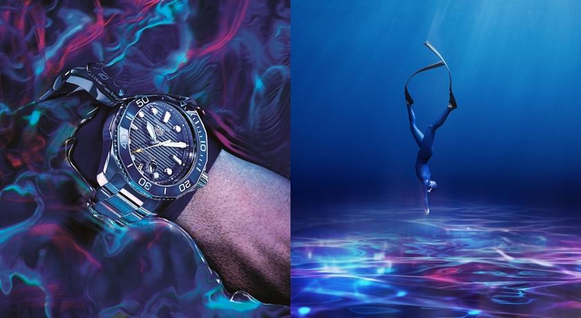 從懸崖一躍而下的瞬間全被拍!腕錶「超震撼廣告」網上瘋傳