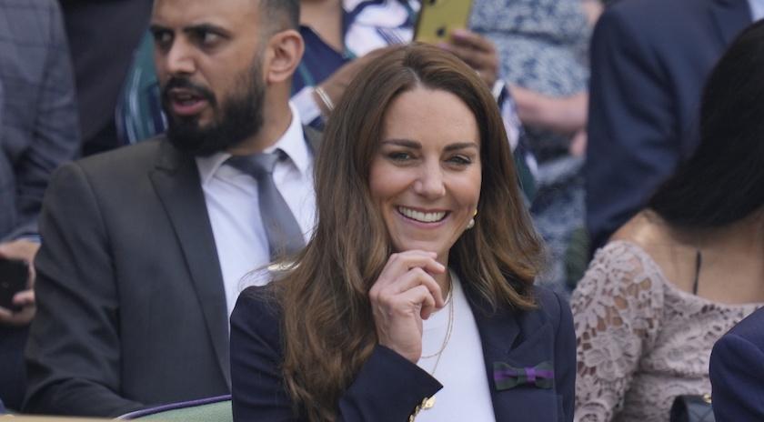 凱特王妃驚喜現身溫網球場!預測冠軍藏「滿滿私心」
