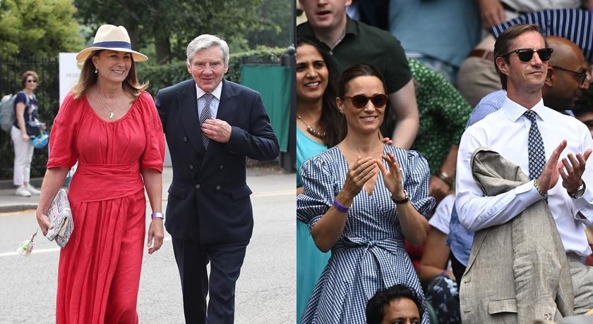 凱特王妃娘家溫網全出動!對比3年前舊照「只剩她」差太大