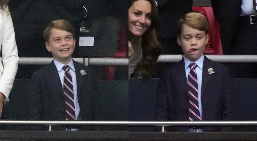 看英國隊從領先到敗北!喬治小王子「失望表情包」又萌又心疼