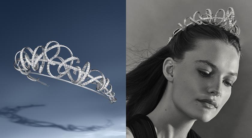 飄逸緞帶「瞬間停格」被做成珠寶!看起來超不思議卻美翻了