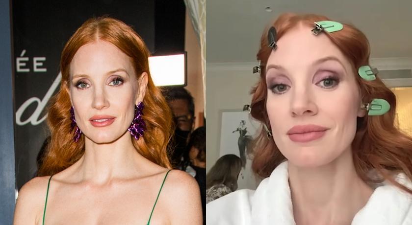 影后公開坎城後台妝髮過程!從「素顏到完妝」讓網友看傻了