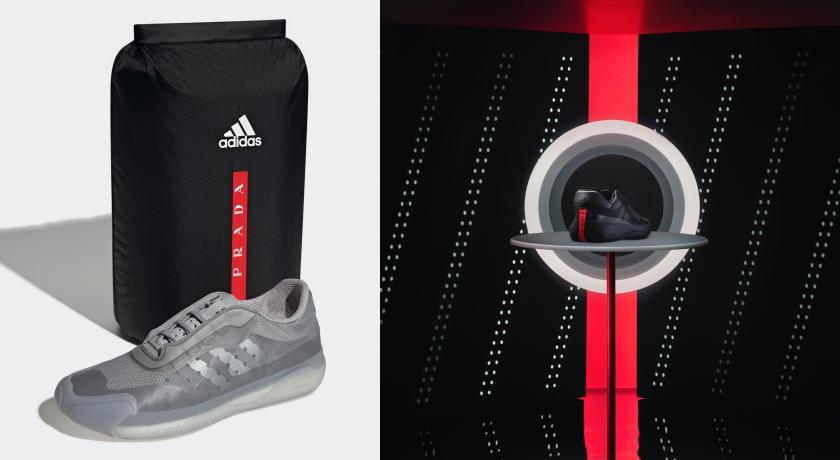 PRADA三度合作adidas!極輕量運動鞋「超狂機能」曝光