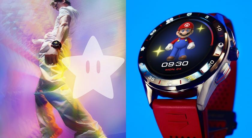 史上最萌!手錶上出現「超級瑪利歐」吃蘑菇還會變大超可愛