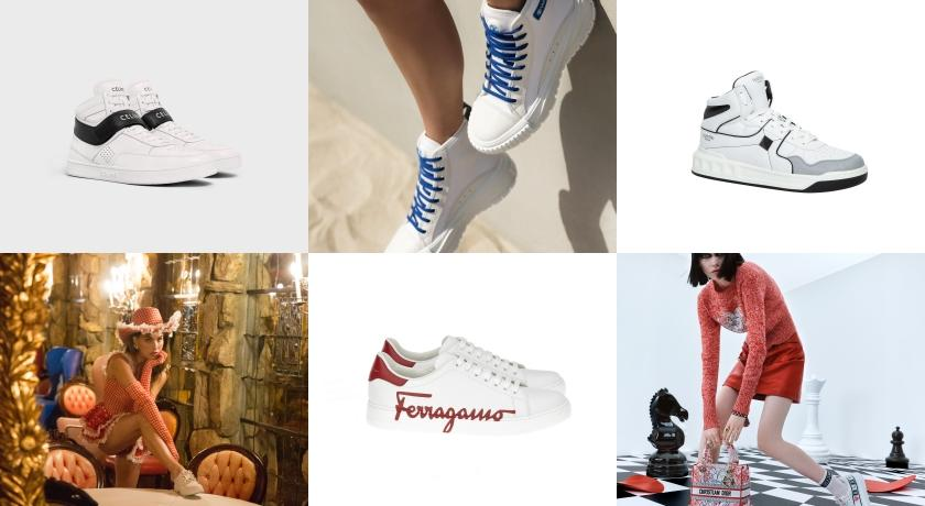 一雙在腳超百搭!高質感「白球鞋」為夏季穿搭大升級