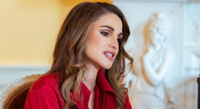 「世界最美女人」約旦王后訪美!會見第一夫人的造型藏亮點