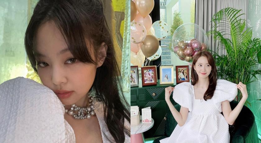 Jennie撞衫潤娥「白雪公主裝」!超短裙襬網狂讚她贏了