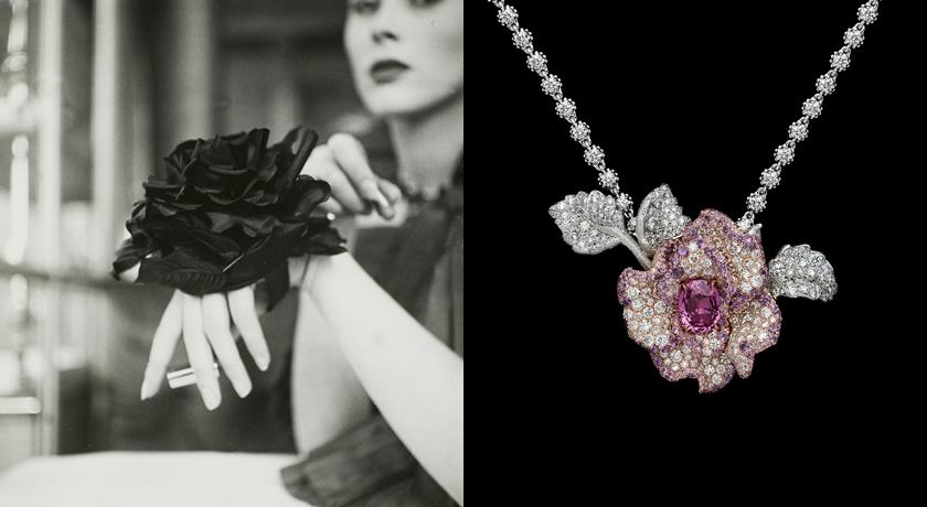 鑽石、貴寶石打造「像素玫瑰」!模擬百年後玫瑰花的虛擬樣貌