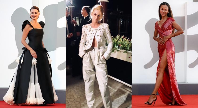 暮光女攜「黛妃傳」亮相威尼斯影展!只穿外套「釦子不扣好」成最大亮點
