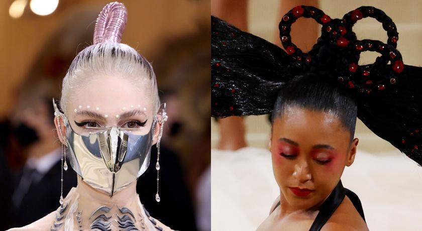 時尚奧斯卡》髮型搞怪不怪!電音精靈綁「粽子頭」、大坂直美致敬「黑山老妖」?