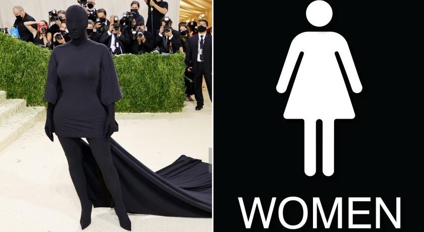 時尚奧斯卡》翹臀金全身包緊緊被玩壞!網友笑翻:根本「廁所告示牌」