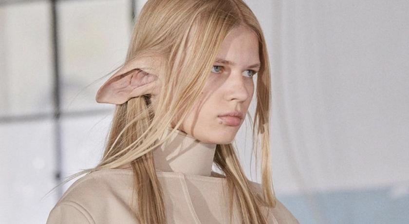 時裝伸展台上模特兒長出「動物耳朵」!揭曉背後原因藏洋蔥