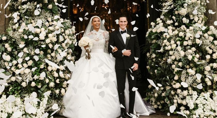 維密天使大婚宛如「茉莉公主」真人版!超模伴娘一字排開太養眼