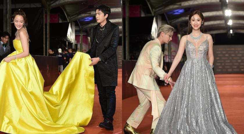 紅毯上貼心幫吳姍儒、王淨整裙襬!他們成「金鐘最佳紳士」