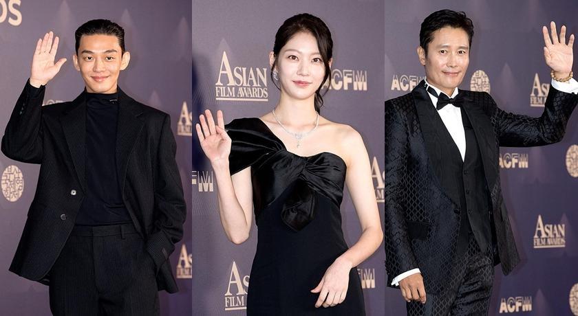 劉亞仁、李秉憲亞洲電影大獎比帥!「紅毯最美」被起底竟是TWICE成員親姐