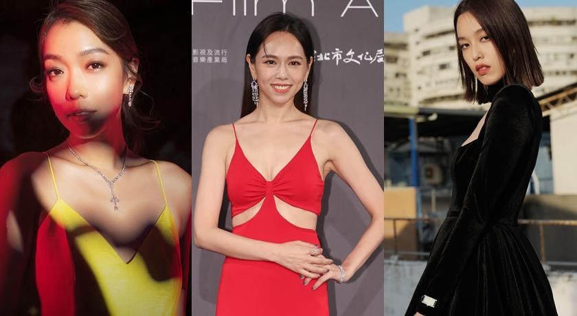 夏于喬「腰部挖空」成台北電影獎最辣!全身戴滿鑽石閃翻了