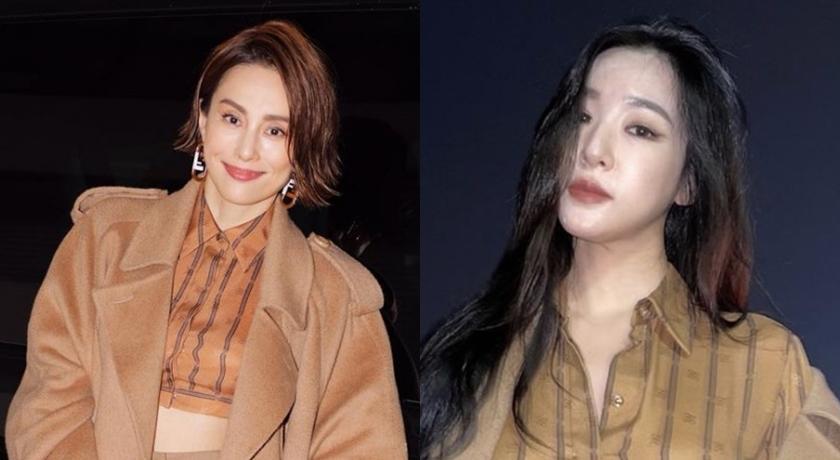 日韓女神比美!米倉涼子、Tiffany 差 14 歲「撞衫」秀蠻腰