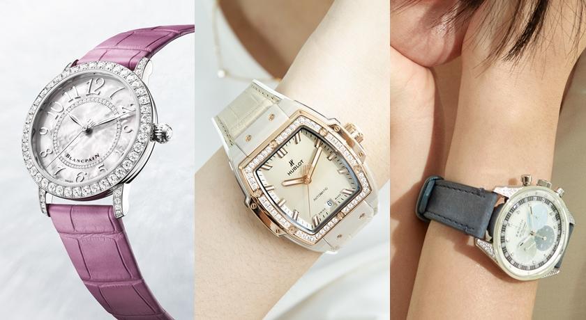 女子錶》深淺藍錶盤像海一樣!手錶變「調色盤」原來這麼美