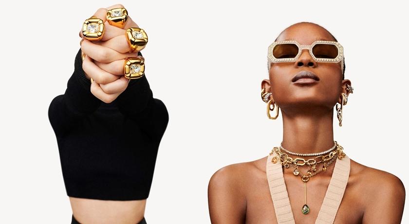 優雅水晶變酷了!尤其「鐵鍊式扣環」的項鍊戴越多條越好看