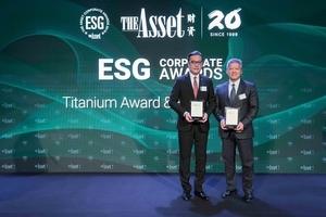 永續發展 永豐金獲ESG雙料大獎