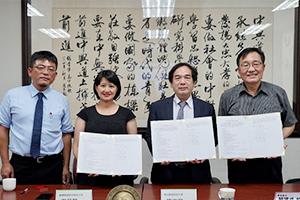 青年高中培育在地人才 簽署產學三方合作計畫