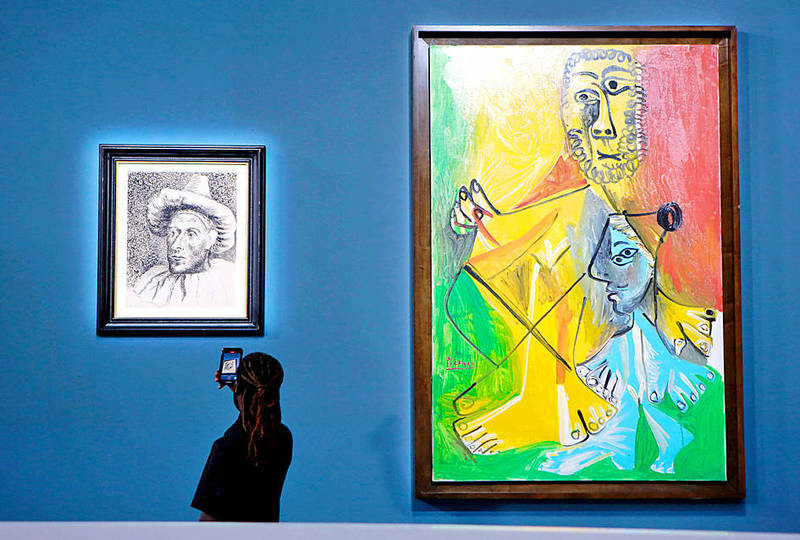 《TAIPEI TIMES》 Picasso artworks in Las Vegas fetch over US$100m