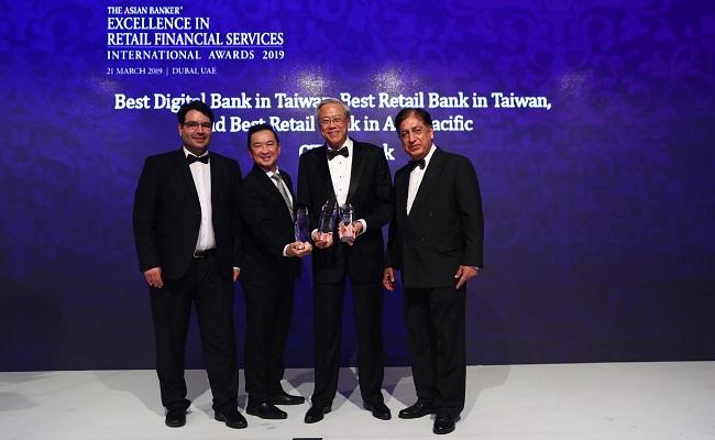 中信銀勇奪亞洲最佳個人金融銀行
