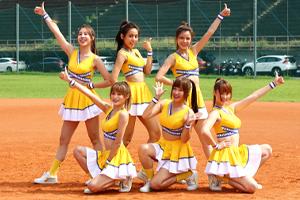 永慶盃壘球賽開打  PS女孩熱舞助陣