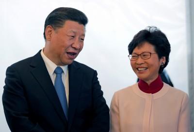 自由談》習近平下香港