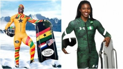 Outside》冬季奧運會的非洲選手