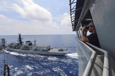 聚焦南海》英美兩軍在南海適用「北約組織」軍事程序所釋放的政治訊息