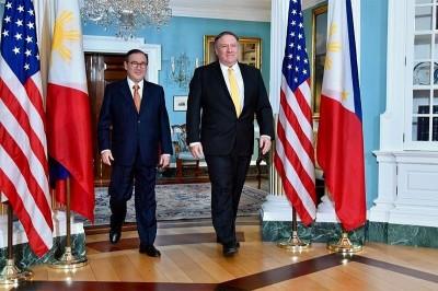 聚焦南海》美國國務卿承諾《美菲共同防禦條約》中沒有交代的事
