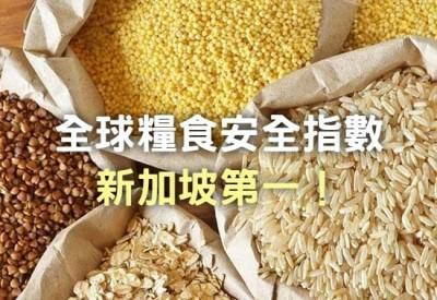 文青別鬼扯》全球糧食安全指數,新加坡第一!