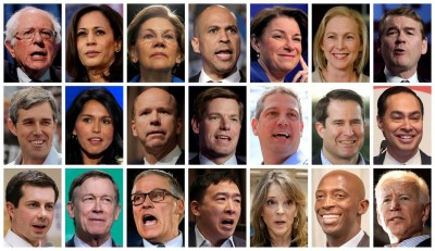 偶然言中》北白、南深、小鮮肉:美國民主黨 2020總統初選加溫