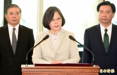 崢言》蔡英文總統應呼籲國際共同介入香港問題
