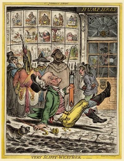 漫遊藝術史》18-19世紀的倫敦版畫店!