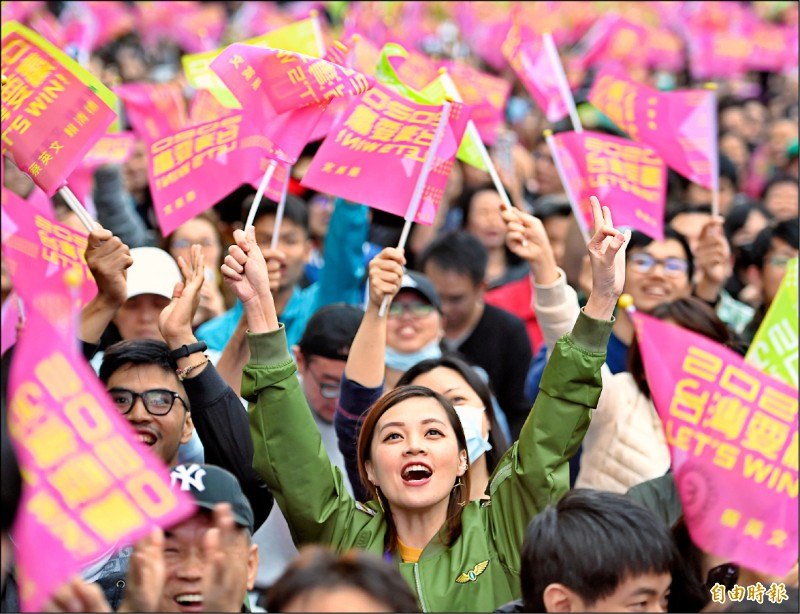 社論》台灣民主嘹亮的勝利