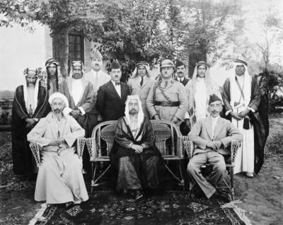 伊朗與西亞世界》外約旦的哈希姆—紹德問題與英國