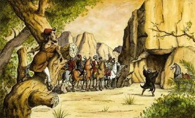 童話法律》阿里巴巴偷強盜的戰利品,可以嗎?