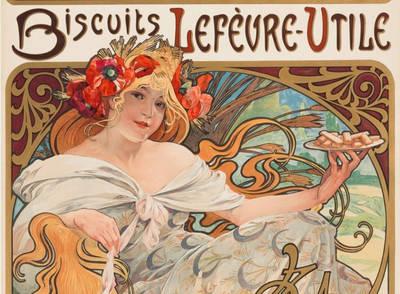 漫遊藝術史》海報文化崛起的「美好年代」