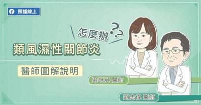 照護線上》類風濕性關節炎怎麼辦?醫師圖解說明
