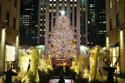 紐約地途》洛克菲勒中心的那棵樹
