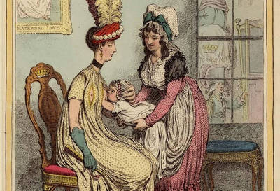 漫遊藝術史》親餵母乳:版畫中的模範好母親、時尚壞媽媽與其意義
