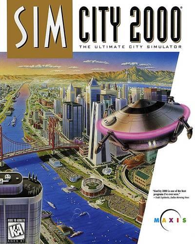 神楽坂週記》20世紀末的電腦都市狂想曲《模擬城市2000》