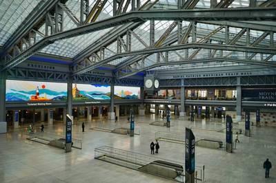 紐約地途》疫情下的城市小旅行:「莫尼漢車站大廳」