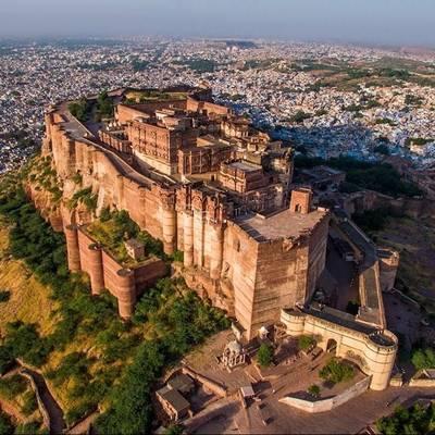 即食歷史》被詛咒的城堡:印度梅蘭加爾城堡
