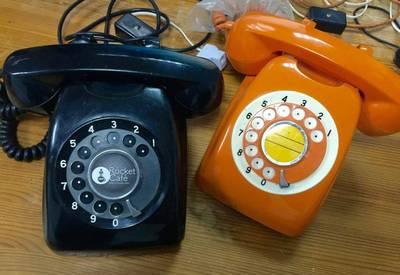 神楽坂週記》 令人懷念的「黑電話」並不僅只是懷舊對象