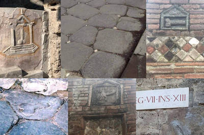 即食歷史》在古羅馬時代,利用月光反射出方向的道路